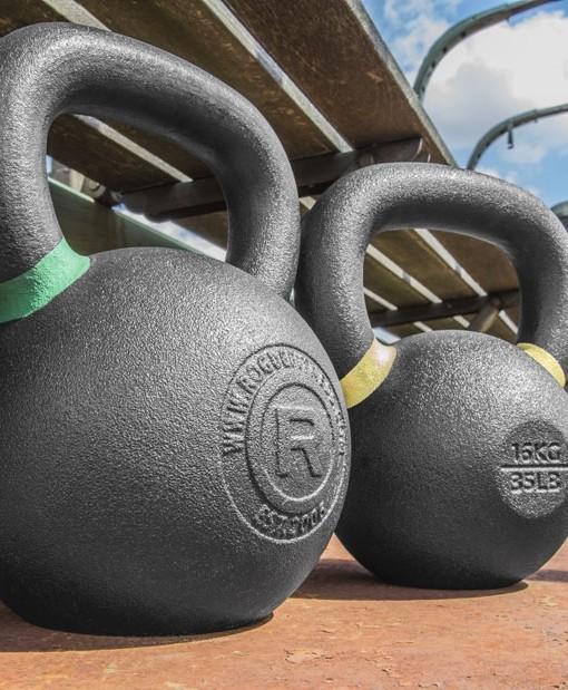 Rogue Fitness equipment.